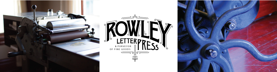 Rowley Press Blog
